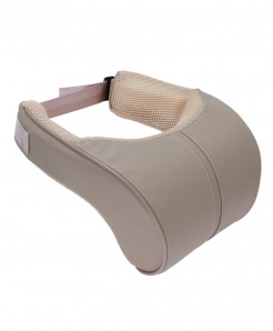 Beige Memory Cotton Car Neck Rest Seat Support