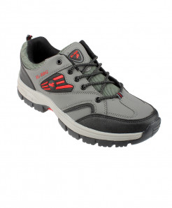 Gray Breathable Comfortable Hiking Shoes SPK-093