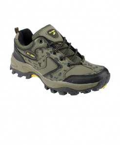 Green Breathable Comfortable Hiking Shoes SPK-094