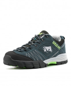 ZHJLUT Blue Green Sport Anti-Slip Breathable Comfortable Hiking Shoes