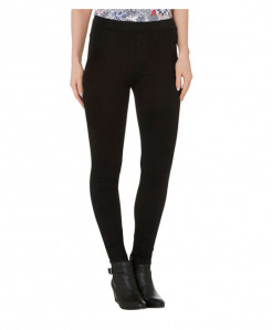 Plus Size Black Jeggings for Women PSW-95