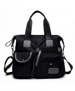 DIZHIGE Black Waterproof Designer Big Capacity Shoulder Bag