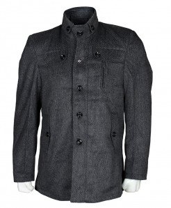 Charcoal Stylish Wool Blazer For Men SPK-130