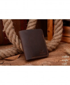 COWATHER Brown Stylish Leather Wallet AT-3473