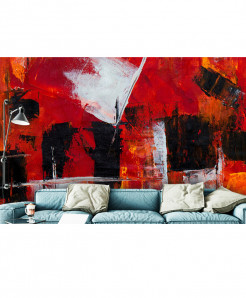 3D Modern Artistic Abstract Painting Wallpaper BNS-153