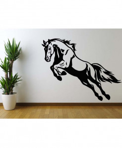 Simple Horse Design Wall Decal BNS-199