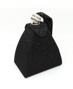 De FGG Black Diamond Mini Wristlet Clutch