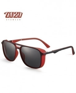 2020 Polarized Punk Red Steampunk Sunglasses