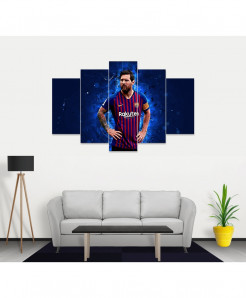 Lionel Messi Stylish Canvas Wall Frame SA-55