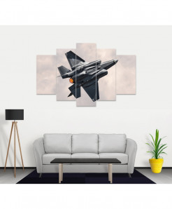 Fighter Jet Stylish Canvas Wall Frame SA-54