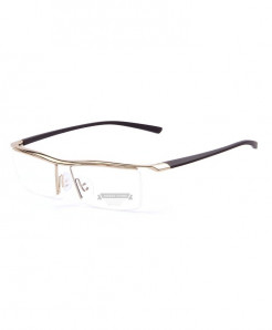 MERRYS Golden Titanium Optical Frame