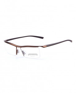 MERRYS Bronze Titanium Optical Frame