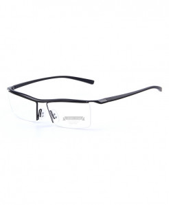 MERRYS Black Titanium Optical Frame