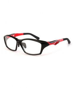 ELECCION Black Red Sport Optical Frame