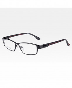 Reven Jate Black Red Ultra Light Flexible Electronic Plating Metal Material Optical Frame