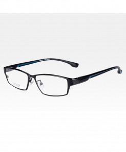 Reven Jate Black Blue Ultra Light Flexible Electronic Plating Metal Material Optical Frame