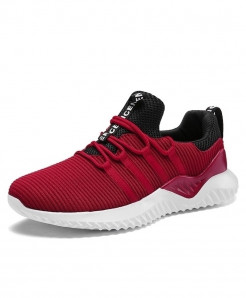 Red Running -up Athletic Trainers Zapatillas Sports Shoes