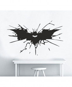 Dark Knight Rises Logo Vector Wall Decal BNS-195