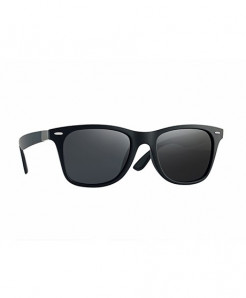Latasha Classic Black Frame Polarized Sunglasses For Men