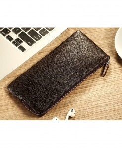 ManBang Brown Long Design Stylish Wallet