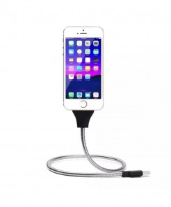 Flexible Lazy Stand Up Charging Cable