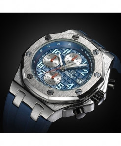TORBOLLO Blue Water Resistant Quartz Watch