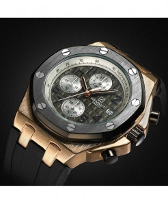 TORBOLLO Golden Water Resistant Quartz Watch