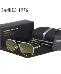 BANNED 1975 Day and Night Version Polarized Sunglasses
