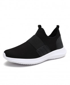 COOLVFATBO Black Stylish Slip On Casual Shoes