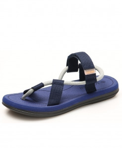 Redhollow Blue Breathable Clip Toe Dual-purpose Sandal