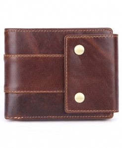 MISFITS Genuine Leather Men Vintage Wallet