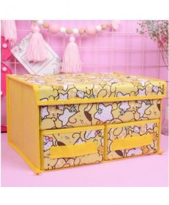 Yellow Hello Kitty Locker Organizer Storage Box