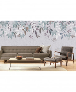 3D Leaves Texture Wallpaper BNS-296