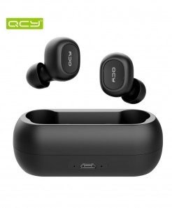 QCY Black TWS 5.0 Bluetooth 3D Stereo Wireless Earphone