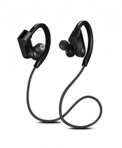 CBAOOO Black Sport Bluetooth Wireless Earphones