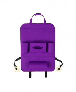 KKMOON Purple Multi-Pocket Backseat Organizer