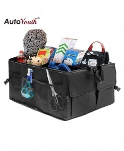 AUTOYOUTH Car Trunk Organizer Eco-Friendly Super Strong
