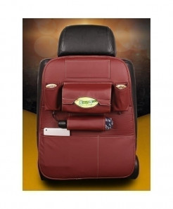 DEFOE Red Multi-Functional Seat Storage Bag