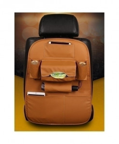 DEFOE Orange Multi-Functional Seat Storage Bag