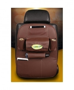 DEFOE Brown Multi-Functional Seat Storage Bag