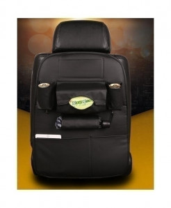 DEFOE Black Multi-Functional Seat Storage Bag