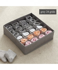 Luluhut Gray 24 Grids Multi-Functional Storage Box