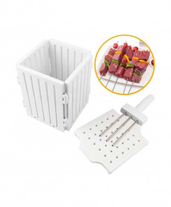 BBQ 36 Holes Meat Skewer Kebab Maker QE-10