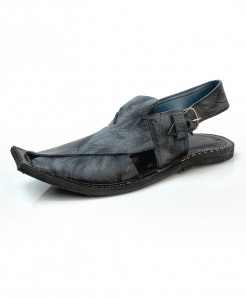 Gray Stitched Stylish Peshawari Sandal AK-2834