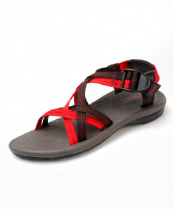 Black Red Stylish Design Casual Sandal DR-703