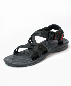 Black Gray Stylish Design Casual Sandal DR-706