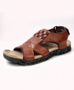 Brown Stylish Design Casual Sandal DR-708