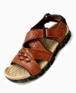 Brown Stylish Design Casual Sandal DR-716