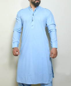 Light Blue Stylish Design Kurta Shalwar ARK-999