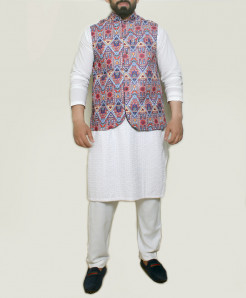 Multi-Color Design Stylish Suit ARK-1005 (3pc)